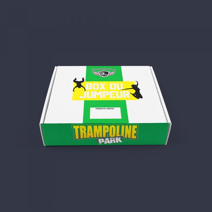 Box de base trampoline park