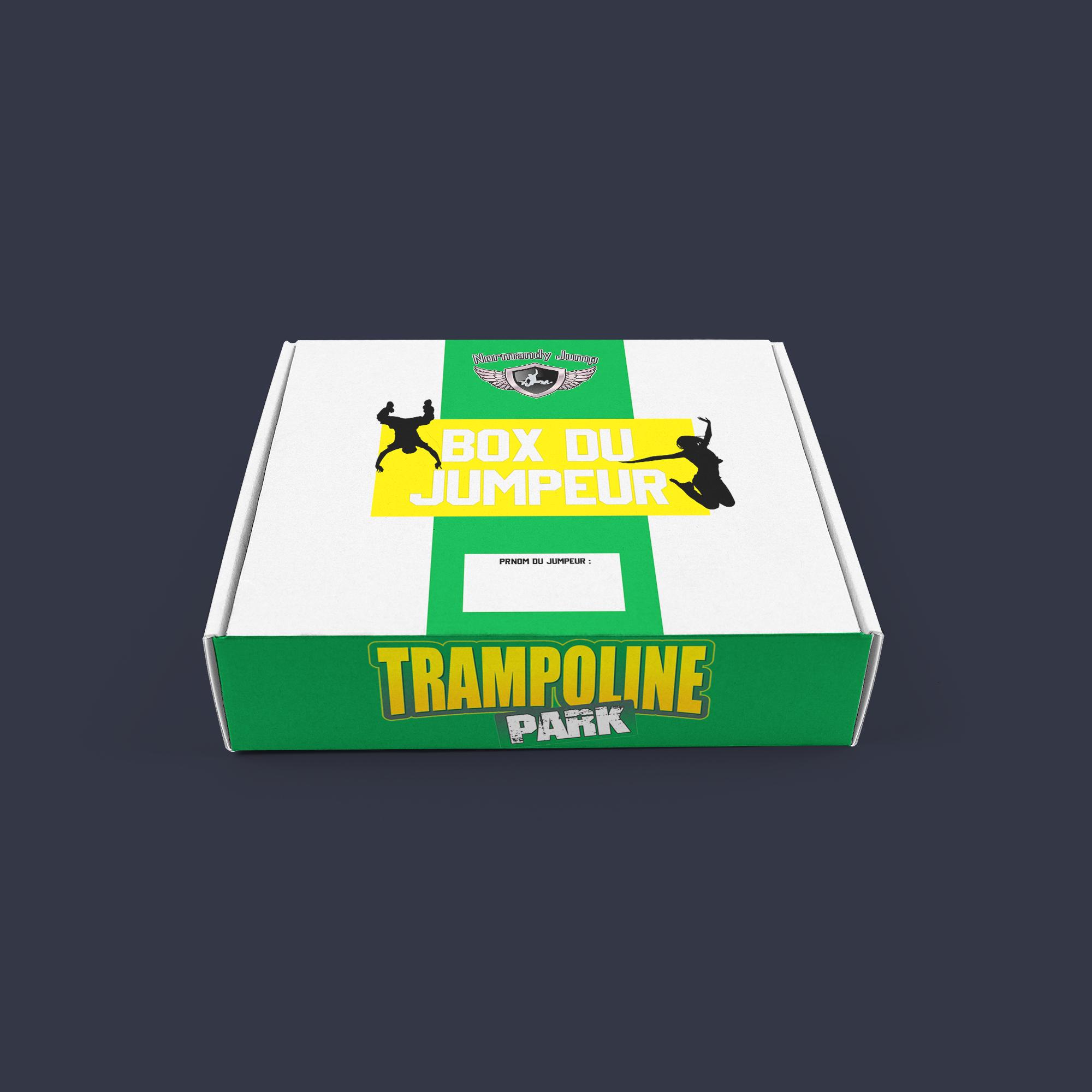 Box trampoline park normandy jump